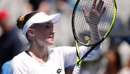 Александра Саснович вышла в третий круг Australian Open