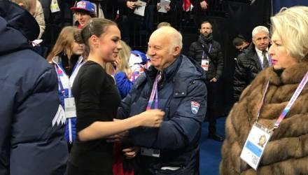 Загитова ушла с тренировки без настроения и не дала автографов
