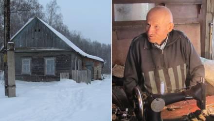 Шахтёрское прошлое, золотые руки и самолечение: знакомимся с единственным жителем деревни Кавказ на Гомельщине