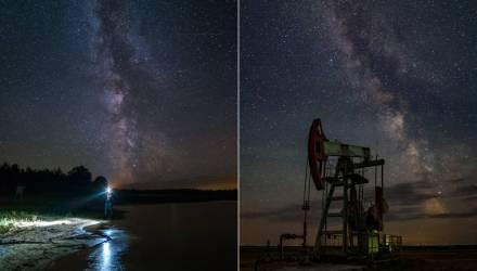 Какие звёзды видны в ночном небе Гомеля