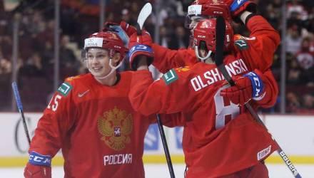 Россия разгромила Словакию, Канада и Швеция вылетели в четвертьфинале МЧМ