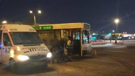 Фотофакт. ДТП с автобусом на Речицком проспекте