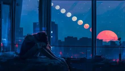 Завтра утром в Гомеле можно будет наблюдать полное лунное затмение
