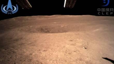 Китайский космический зонд впервые в истории совершил посадку на обратной стороне Луны