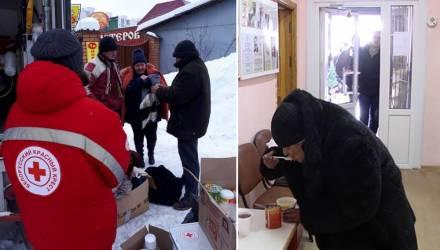 «Такая помощь должна быть». В Гомеле открыли пункты обогрева для наиболее уязвимых групп населения