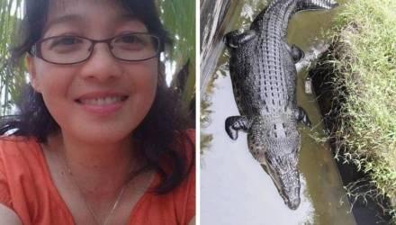 Крокодил заживо съел женщину-биолога, когда та пыталась его покормить в вольере