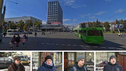 Что думают гомельчане о строительстве подземного перехода на проспекте Ленина