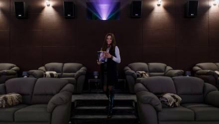 Суперсовременный кинозал появился в Гомеле