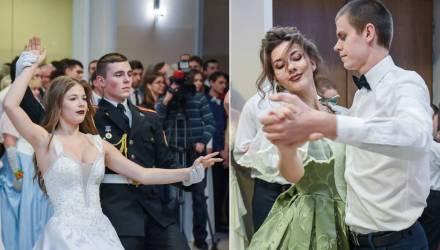 В Гомеле состоялся традиционный бал православной молодёжи (фото, видео)