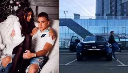 «Футболиста-гонщика» Лухвича задержали, мамкино авто арестовали. Отец: Мне стыдно за сына