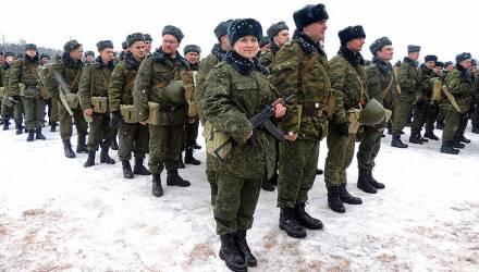 В Беларуси призывают 1400 резервистов. Началась комплексная проверка Вооруженных сил