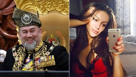 """СМИ узнали о разводе """"мисс Москва"""" с королём Малайзии после его отказа от трона"""