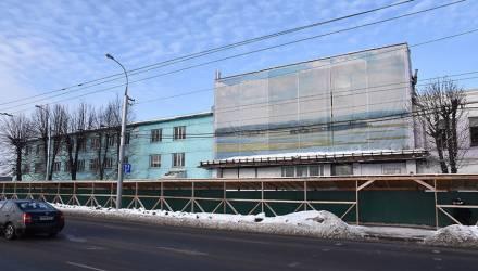 В Гомеле начался снос бывших зданий завода торгового оборудования