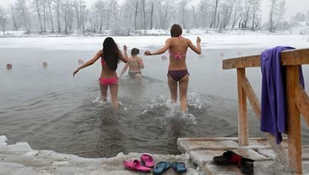 На Крещение без снега, но и без луж. Погода в Гомеле в выходные