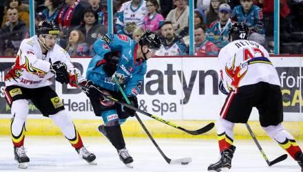 Какая боль: «Белфаст» - «Гомель» 5:0. Белорусские хоккеисты неудачно стартовали в суперфинале Континентального кубка