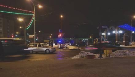 Фотофакт: в Гомеле на проспекте Победы Opel сбил человека