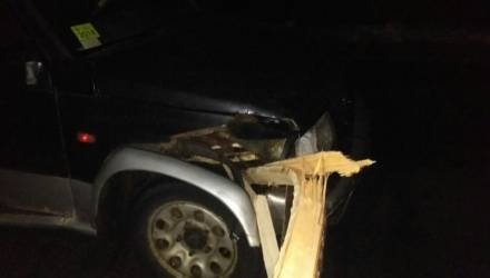 Какая жесть. На Гомельщине женщина-водитель разорвала повозку в щепу – возчик в реанимации