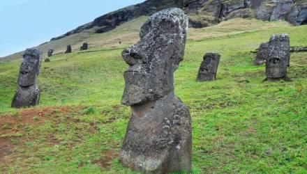 Никакой мистики. Учёные раскрыли секрет статуй на острове Пасхи