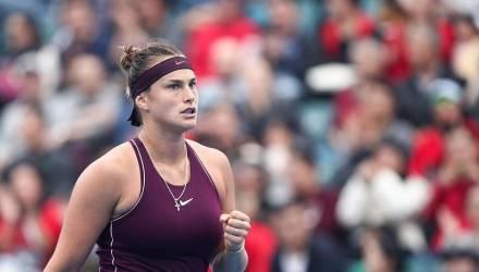 Арина Соболенко выиграла финал турнира в Шэньчжэне и завоевала третий титул в карьере