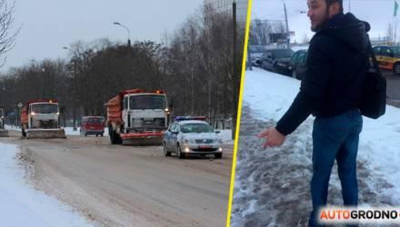 """Белорус остановил колонну МАЗов во главе с """"Дельтой"""", чтобы разобраться, почему его облили грязью"""