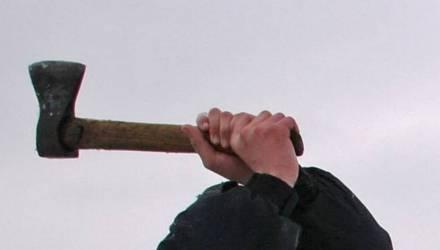 Вынесли приговор жителю Гомельской области, который напал на соседа с топором и хотел отрубить ему голову