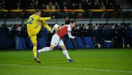 Сенсация в Борисове! БАТЭ обыграл в Лиге Европы лондонский «Арсенал»