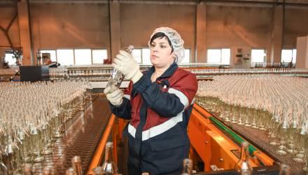 В Гомеле после реконструкции открылся завод по производству стеклотары