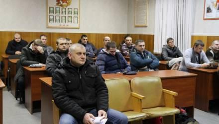 В связи с комплексной проверкой боеготовности Вооруженных сил Беларуси около 60 гомельчан призваны из запаса
