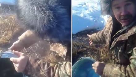 Видеофакт: перевернулась цистерна со спиртом – счастливые мужики черпали его из канавы вёдрами