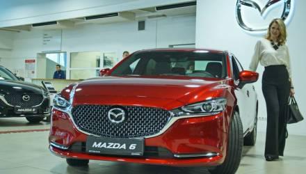 Не машина – пуля! В Беларусь завезли новую Mazda 6