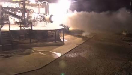 Илон Маск показал работу двигателя межпланетного корабля – видео