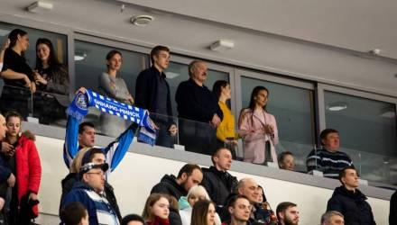 Фотофакт: Александр и Николай Лукашенко на хоккейном матче в «Минск-Арене»