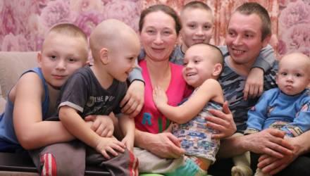 Мама пятерых сыновей из Октябрьского района о том, что приносит радость и как управляется со всеми делами