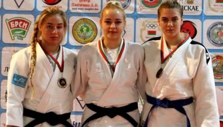 Алина Пасталовская из филиала СДЮШОР Гомельского района стала чемпионкой страны по дзюдо среди юниоров и юниорок
