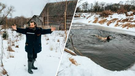 Человек земли. Репортаж о белорусе, который 15 лет назад ушёл от людей