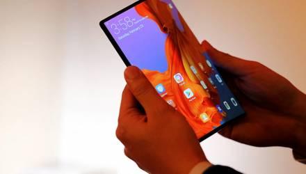 Samsung и Huawei презентовали смартфоны со складывающимся экраном