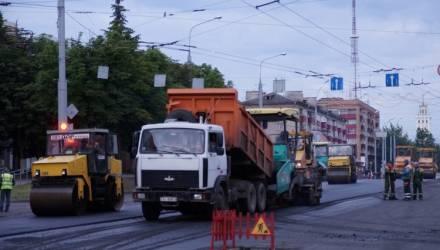 Стала известна сумма, которую планируют потратить на ремонт дорог в Гомеле