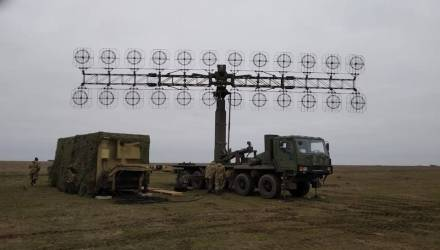 Новейшая украинская РЛС сломалась по дороге на полигон