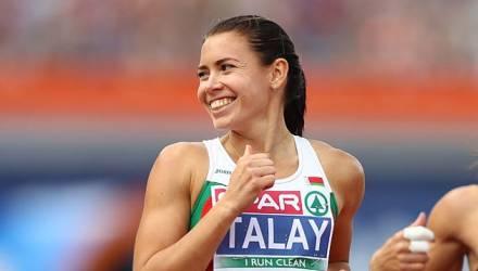 Талай выиграла чемпионат Бельгии в беге на 60 метров с барьерами