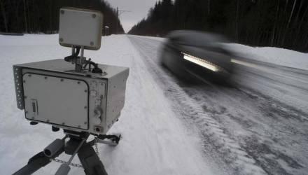 График размещения мобильных камер скорости в Гомельской области с 4 по 17 февраля