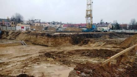 В Бресте на месте строительства найдены останки около 600 человек