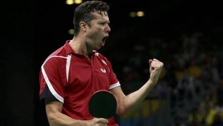 Белорус Владимир Самсонов стал серебряным призёром Кубка Европы по настольному теннису