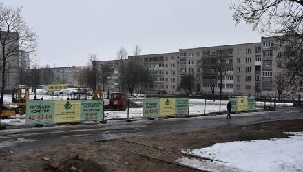 В Гомеле на Быховской готовят стройплощадку под 11-этажный дом – местные недовольны
