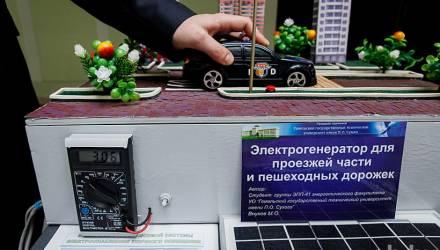 В Гомеле студент нашёл способ, как получить электроэнергию за счёт авто и пешеходов