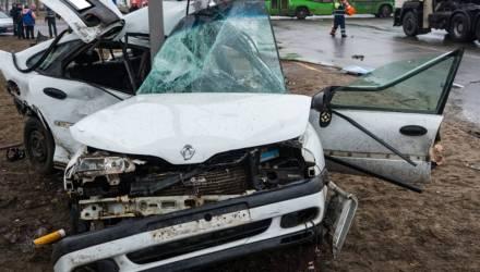 В жуткой аварии в Светлогорске погиб человек