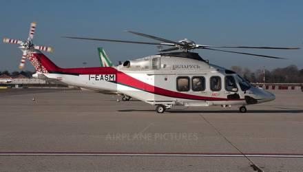 Элитный вертолёт в государственной ливрее прибыл в Минск. Такой стоит около 12 млн долларов