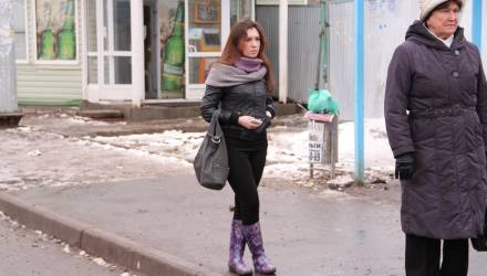 Размазня-февраль. Погода в Гомеле в выходные