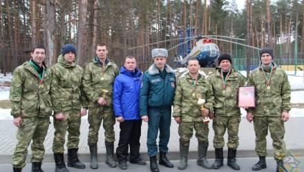 Команда Гомельского областного управления МЧС победила в республиканских соревнованиях по многоборью спасателей