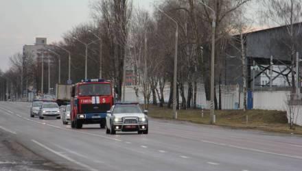 В Гомеле 13 водителей не уступили дорогу пожарной машине МЧС и провалили экзамен на человечность