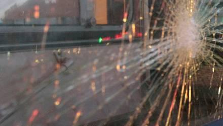 Пьяный белорус обстрелял из пистолета три автобуса и машину с ребёнком